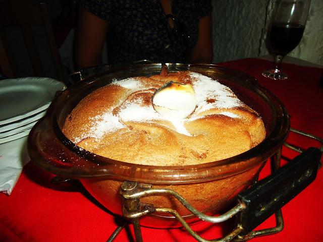 Suflê de Chocolate e Gulasz no A Polonesa