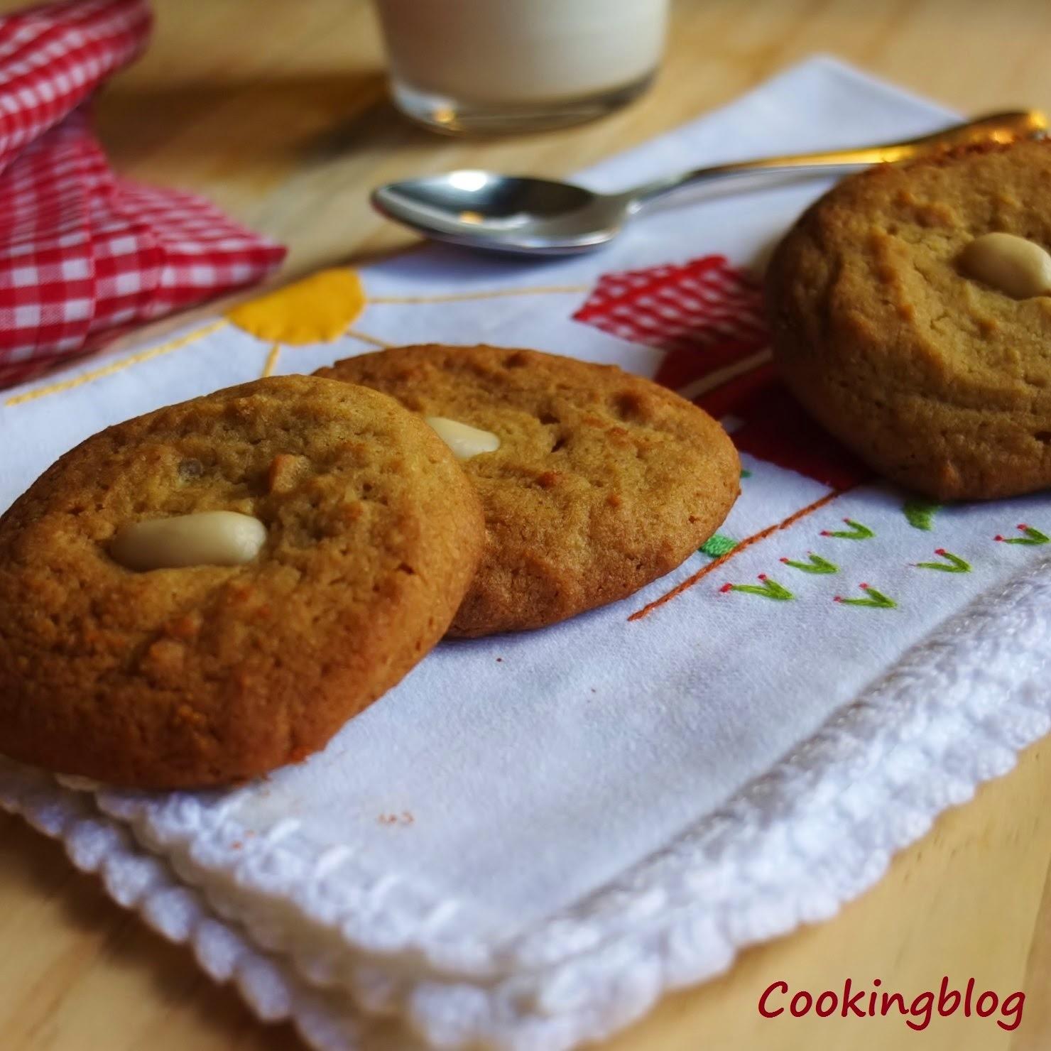 biscoitos amanteigados de amendoim