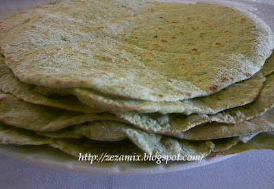 Domaće zelene tortilje
