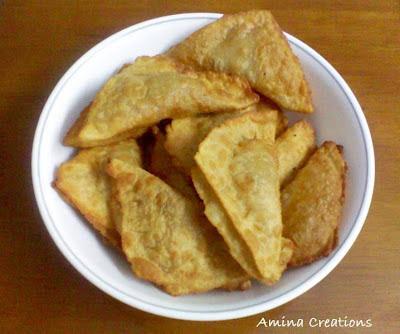 MINCED MEAT SAMOSA (KHEEMA SAMOSA)