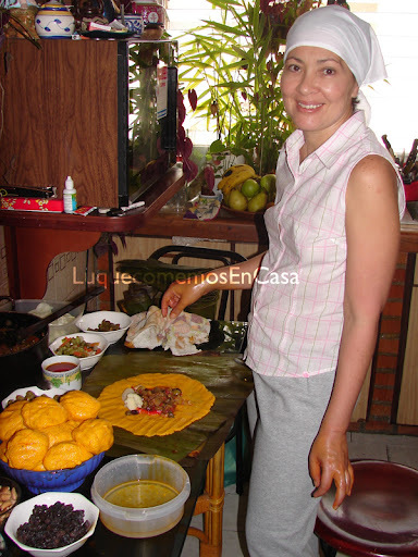 Hallacas Vegetarianas de Rebeca