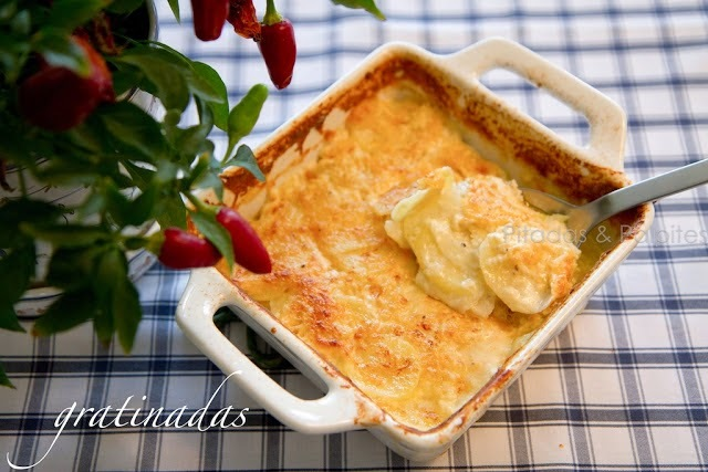 Batata Gratinada Light