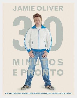 Livro: 30 Minutos e Pronto - Jamie Oliver