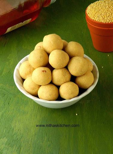 Ancient Thinai Urundai | Foxtail Millet Honey Balls | தேனும் திணை மாவும்