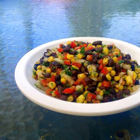 Simple Bean and Corn Salsa