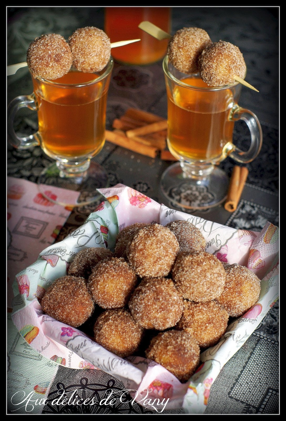 Donut holes sucre & cannelle (Foodista Challenge # 6)
