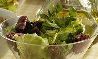Salada de Alface com Fígado