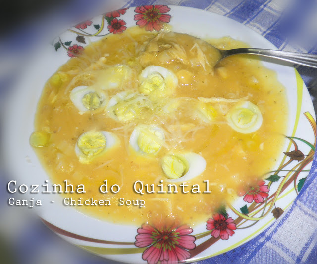Canja - Chicken Soup