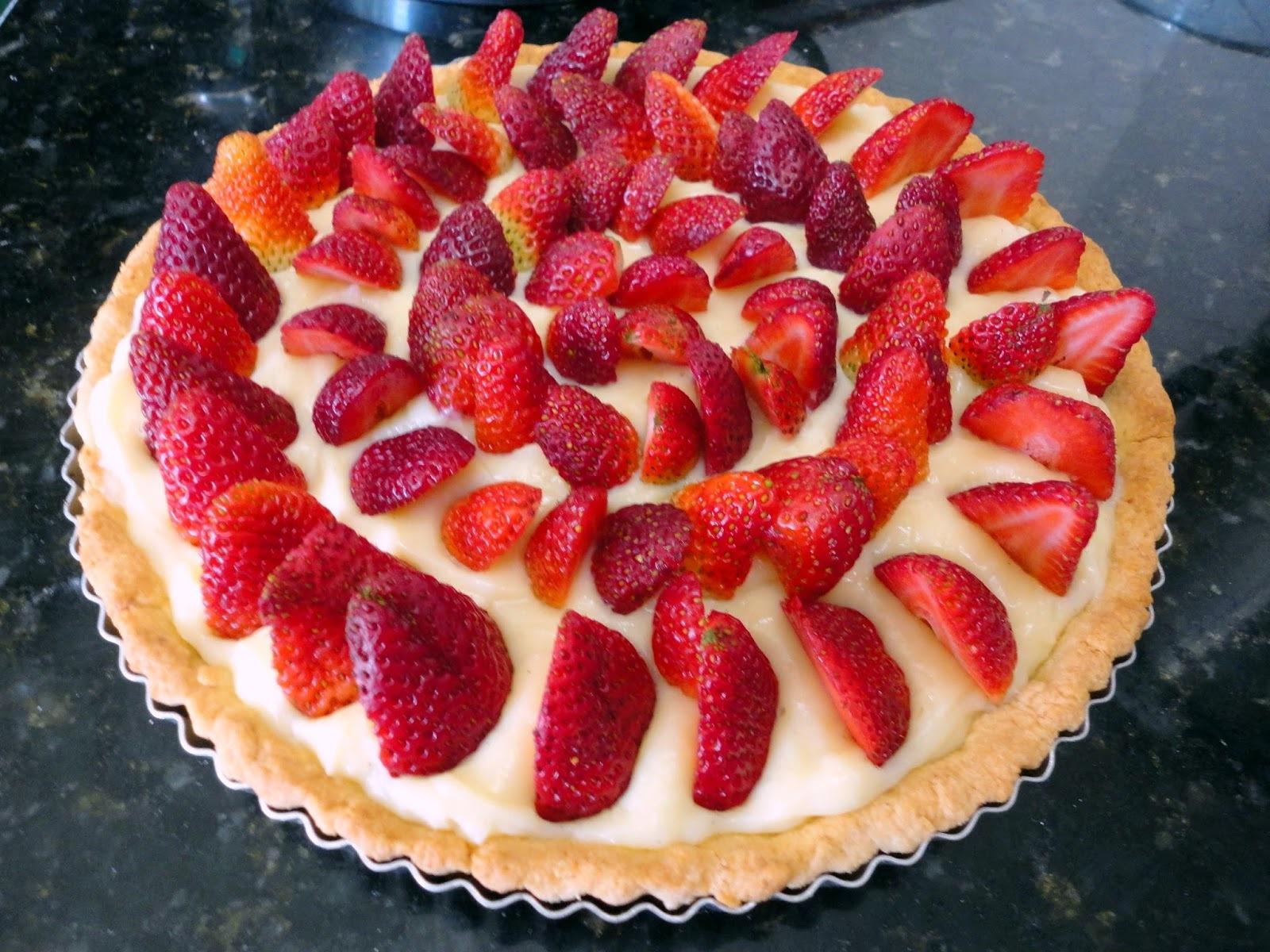 da torta de pessego com massa podre