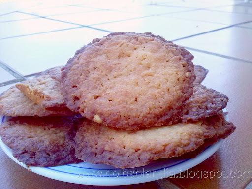 Galletas caseras de queso curado , receta casera