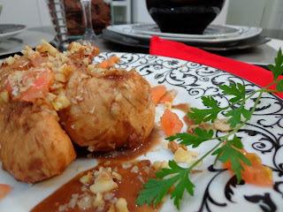 molho de romã peito de frango