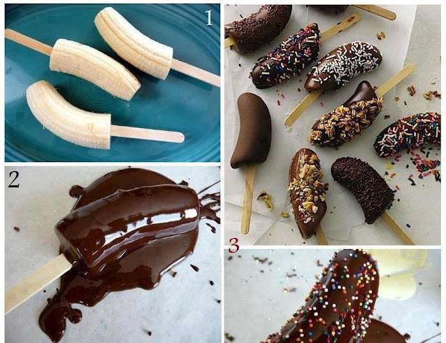 Bananas Achocolatadas