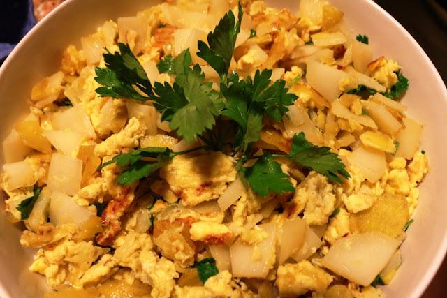 Umas batatas com sabor a saudade!...