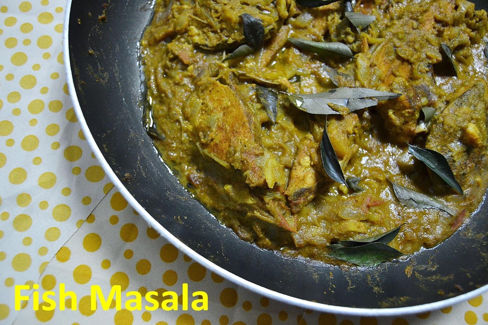 Kerala Style Fish Masala