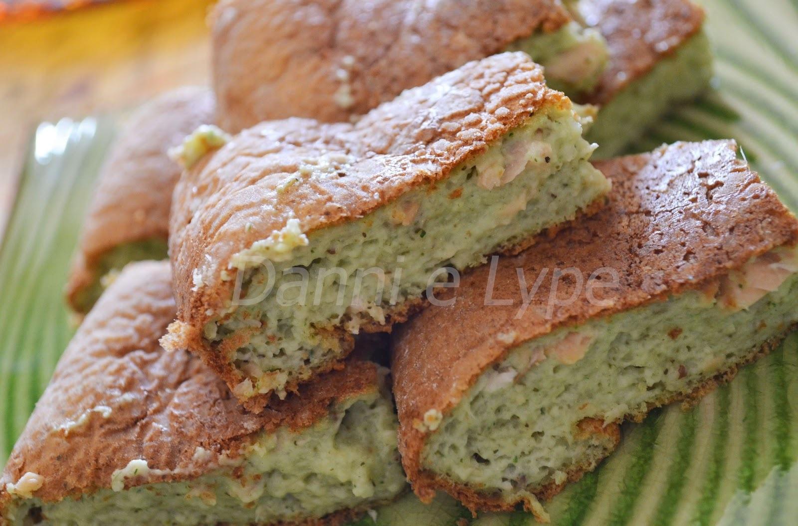 Torta Mousse de Salmão