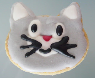 GALLETAS DE GATITOS