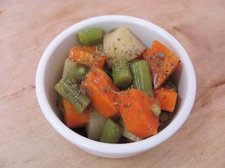Salada de Legumes com Ervas Finas