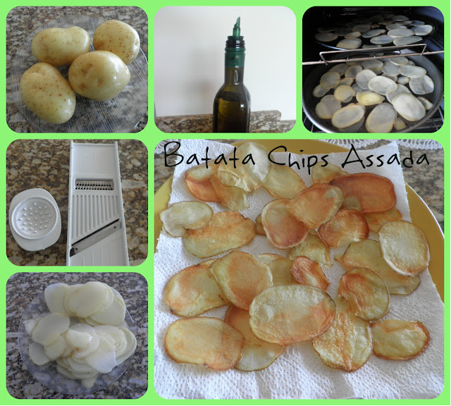 Momento Gourmet: Batata Chips Assada