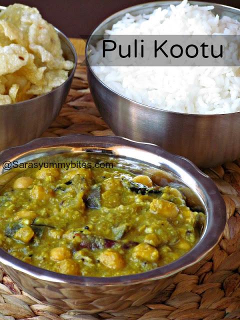 Eggplant puli Kootu / Kathirikai puli kootu