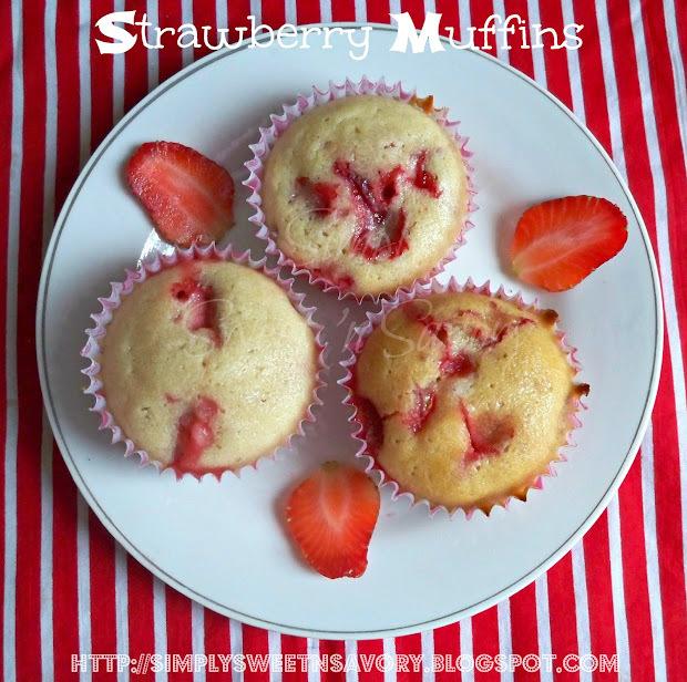 strawberry muffins nz