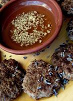 AHRASH - bolinho de carne - hamburguer