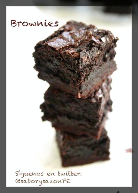COMO PREPARO UN BROWNIE DE CHOCOLATE