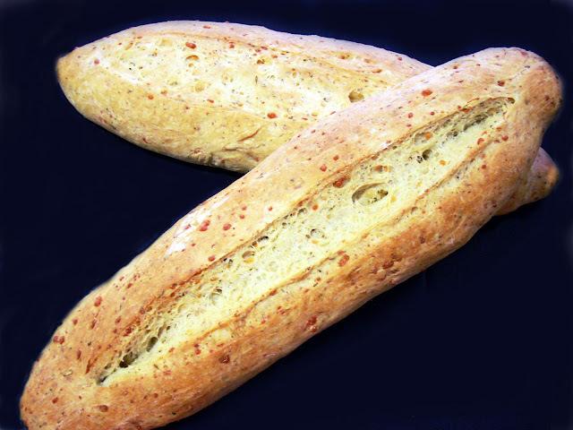 Baguettes de Hierbas Provenzales y Parmesano