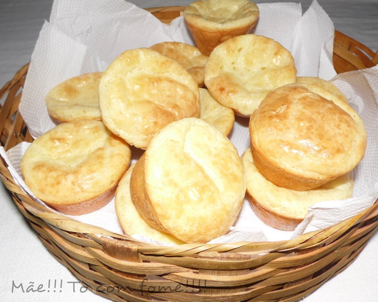 bolo pão de queijo no liquidificador polvilho doce