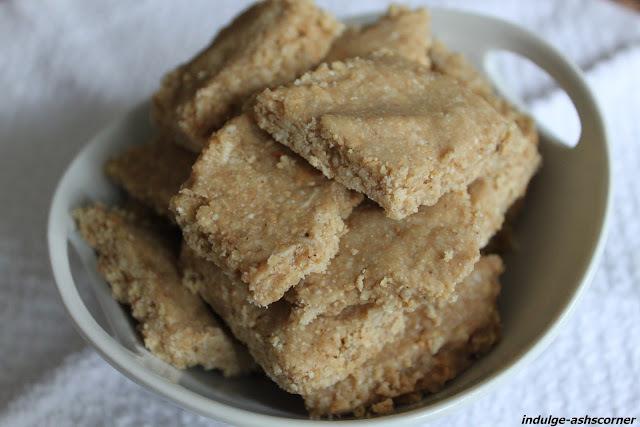 Tila chya Mau Wadya- Soft Sesame fudge