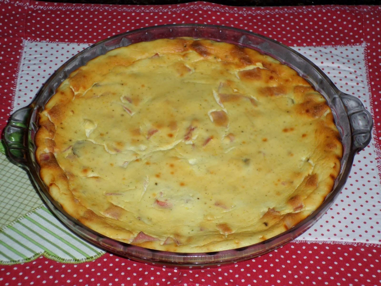 Torta de Ricota (sem farinha)