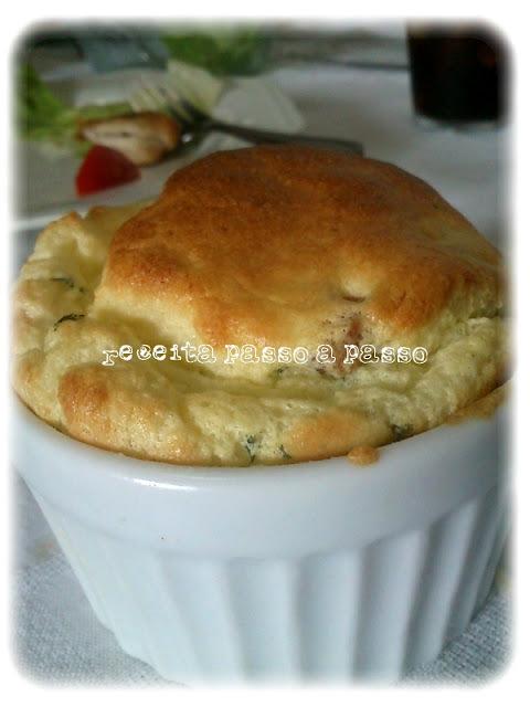 Soufflé de Couve Flor / Cauliflower souffle
