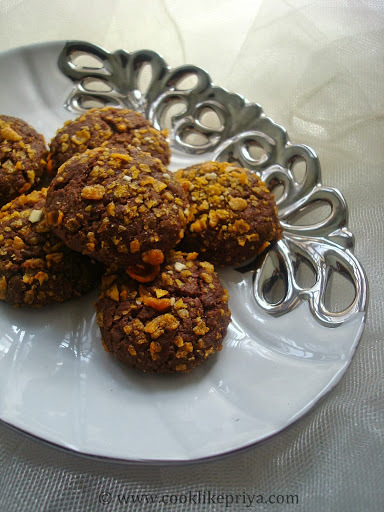 Chocolate Cornflakes Cookies | Eggless Cornflake Cookies | Easy Cookie recipe