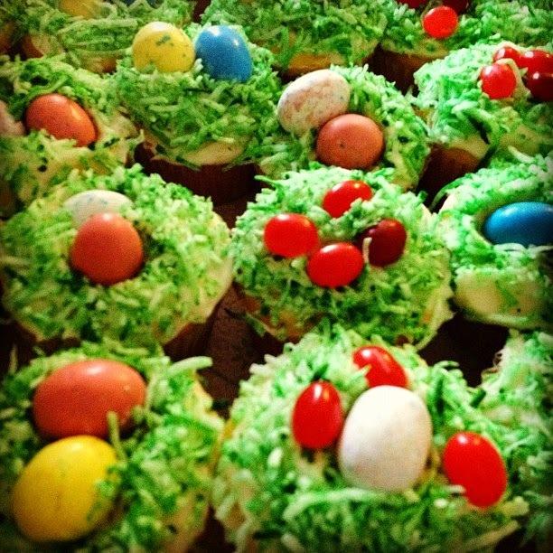 Recette de carrot cupcake spécial Pâques - Petits gâteaux aux carottes, noix de pécan