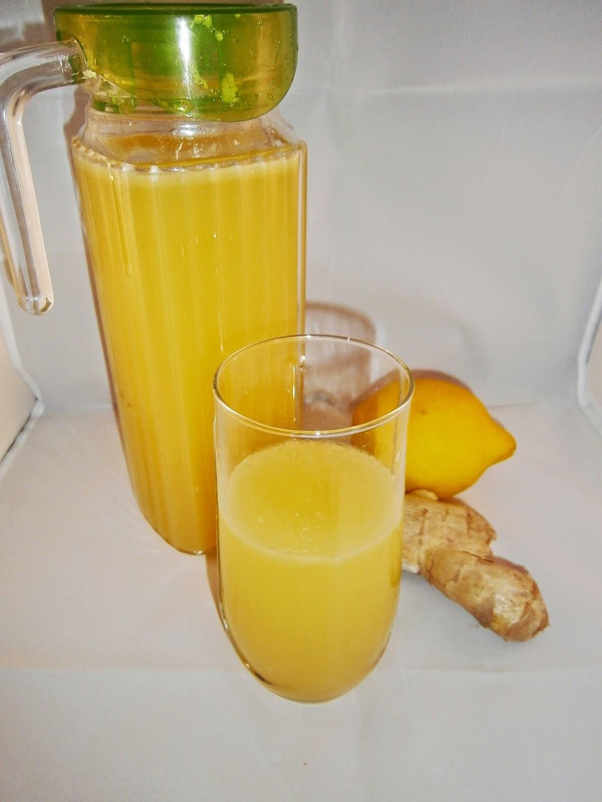 Jus de gingembre, citron et ananas : pour faire le plein d'énergie
