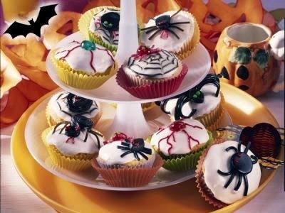 Muffins 'Aranha'