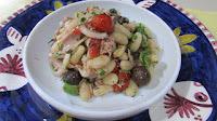 Salada de Feijão-Branco com Atum e Aspargos