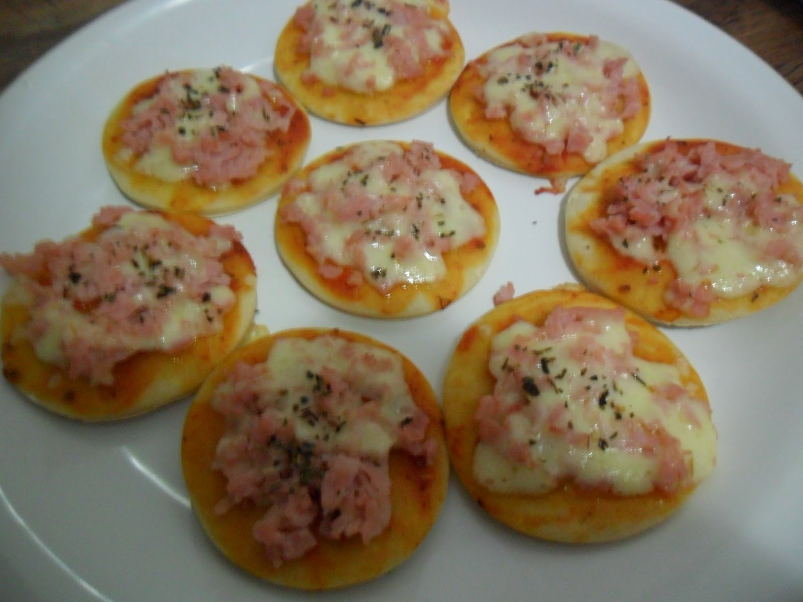 massa de mini pizza rapida