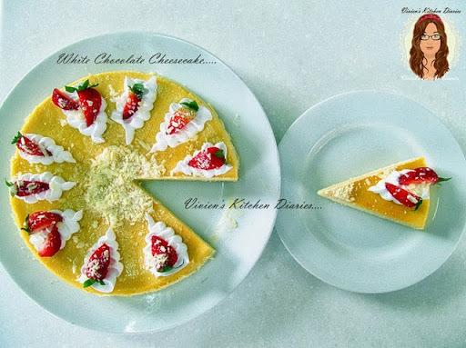 白巧克力。芝士蛋糕------------食譜編寫於【2013.08.06】