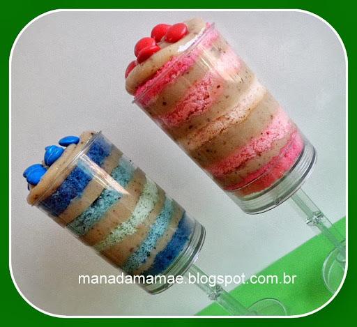 Push Cake Pop - Mais uma variação de bolo para festa