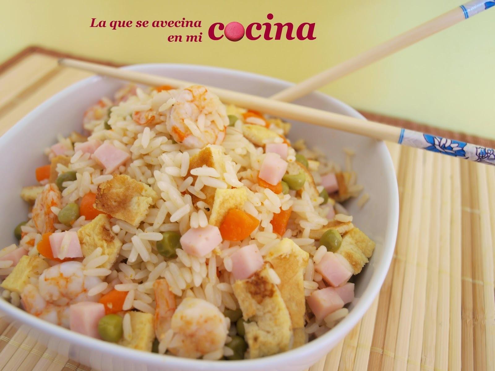 Arroz Tres Delicias.