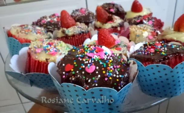 Cupcakes Belle Heléne