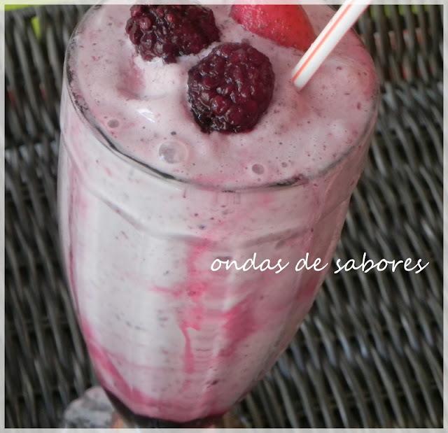 Milk Shake: Frutas Vermelhas x Chocolate