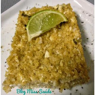Quibe assado de quinoa e ricota