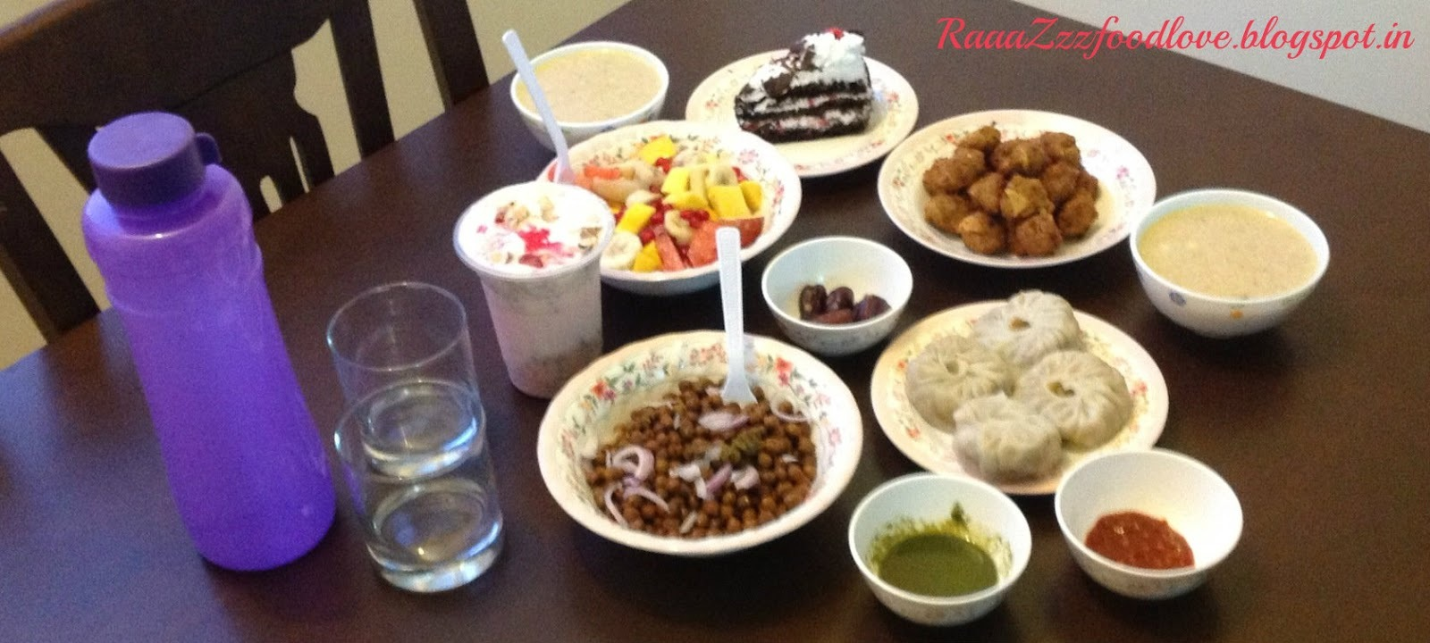 An Iftar Menu at my home - 2013
