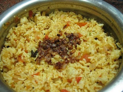 Onion Tomato Rice - My Way