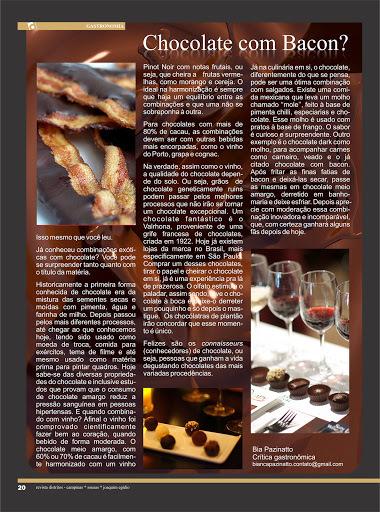 Estréia na Revista Distritos