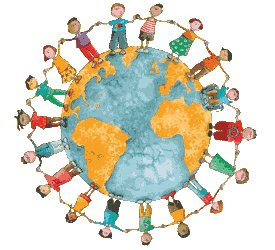 Gomas para oferecer a todas as crianças do mundo