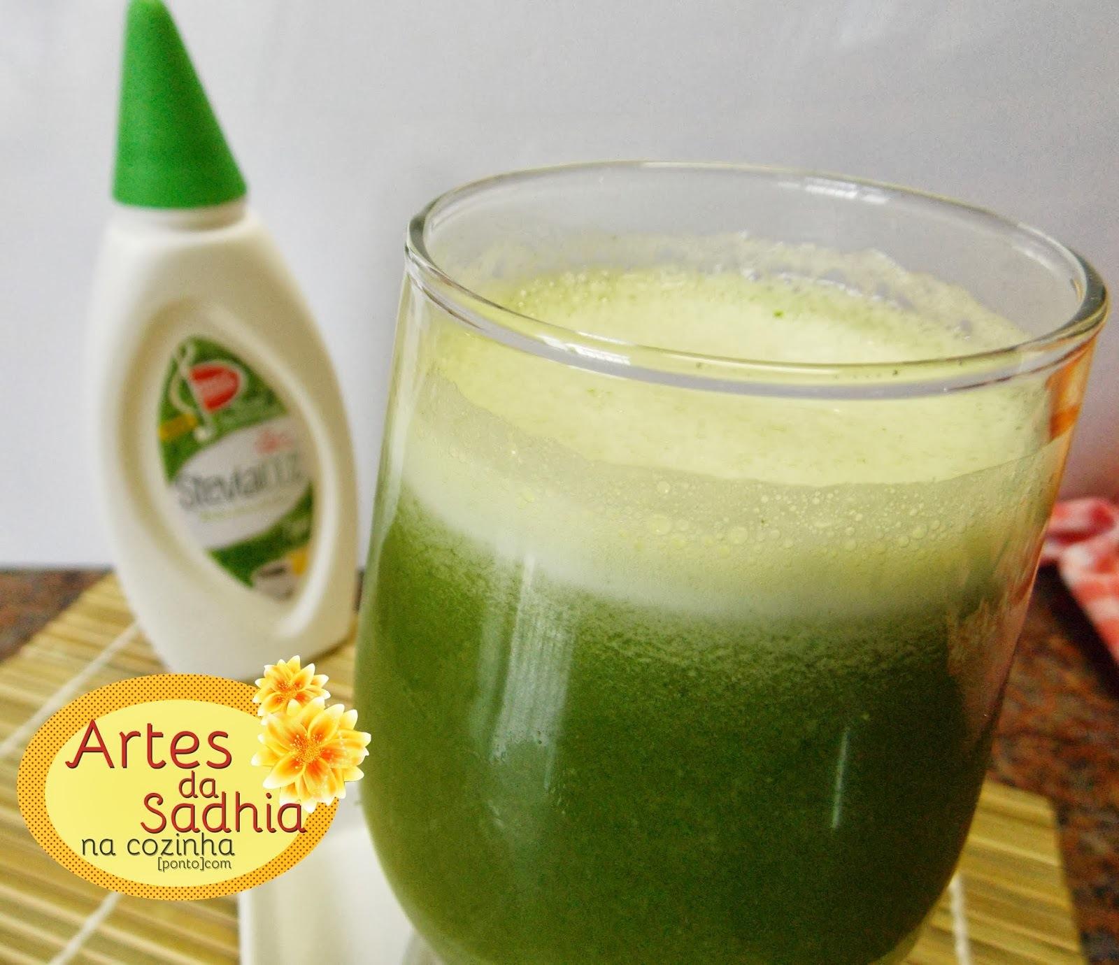 Suco  de abacaxi com clorofila ( termogênico e Detox )