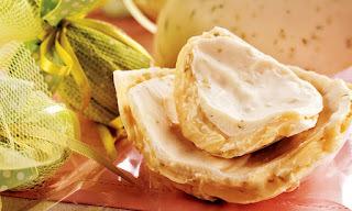 Ovo de Páscoa trufado de limão
