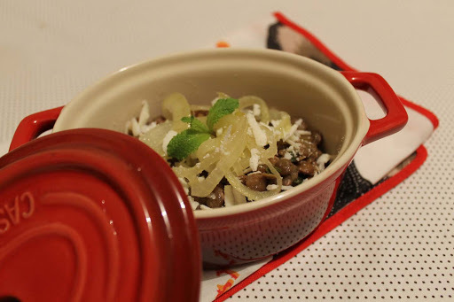 o que acompanha arroz com lentilha